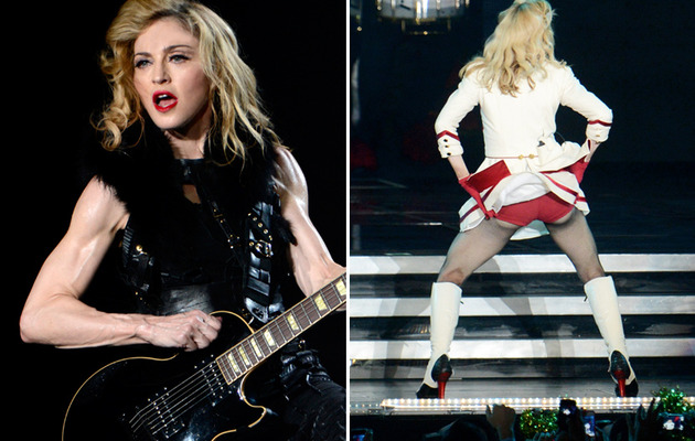 Madonna, 53, Flaunts Buff Arms & Booty During New Tour!