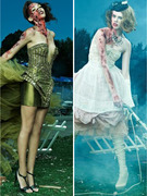 Zombie Apocalypse Hits &quot;America&#039;s Next Top Model&quot;