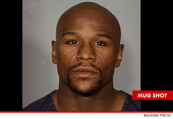 Floyd Mayweather Jr. Mug Shot