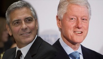 Bill Clinton -- George Clooney IS the Right Man to Play Me!