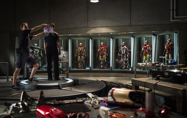 """""""Iron Man 3"""" -- First Official Photo from the Set!"""