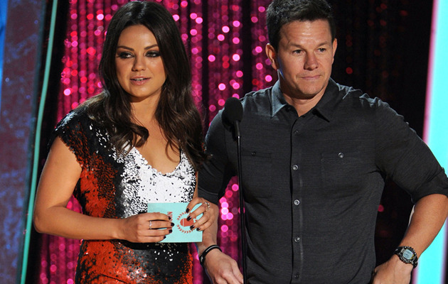 "Mila Kunis Heckled by ""Vulgar"" Audience Member During MTV Movie Awards"