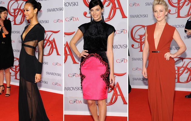 Sexy Styles Reign Surpreme at 2012 CFDA Fashion Awards