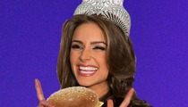 Miss USA Olivia Culpo -- Cops to Late Night Cheeseburger FEAST