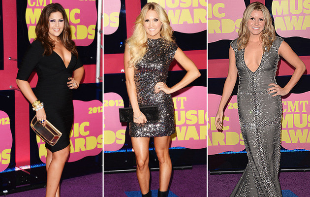Cleavage and Sparkles Reign at the CMT Awards!