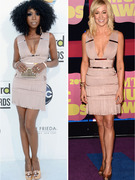 Dueling Dresses: Kellie Pickler versus Brandy!