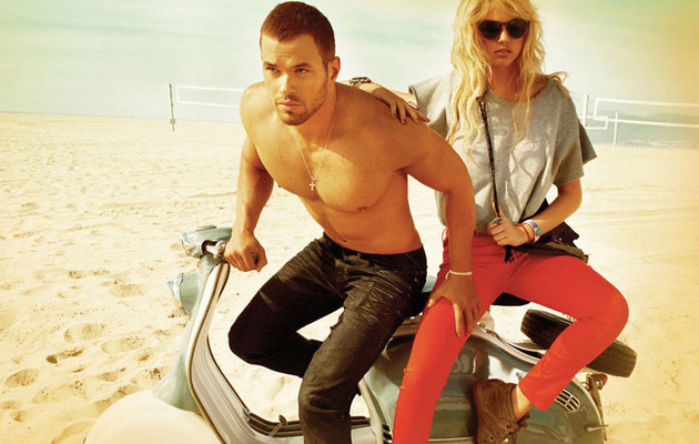 Kellan Lutz and Kate Upton: The Sexy Beach Shoot!