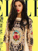 Selena Gomez Flaunts Cleavage for Elle Magazine