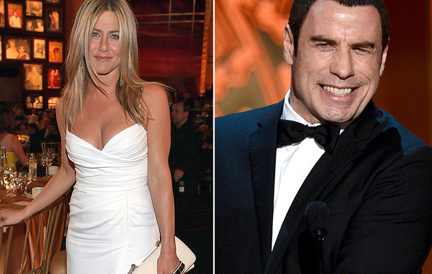 Jennifer Aniston Goes Sexy, John Travolta Resurfaces for Shirley MacLaine!
