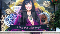 'Mob Wives' Star Angela 'Big Ang' Raiola -- The Case of The Mysterious Mural
