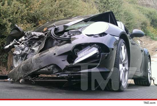 News: Lindsay Lohan Car Accident + Kim Kardashian spoils Kanye West