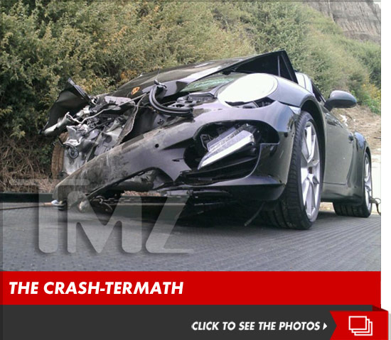 Lindsay Lohan car accident launch