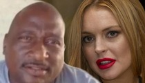 Lindsay Lohan Car Crash -- Truck Driver Lawyers Up