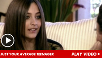 Paris Jackson -- I Am a Victim of Bullying!