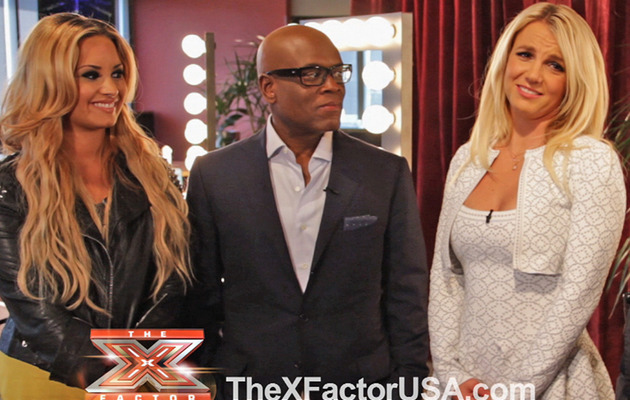 "Exclusive Video: Britney Spears Talks Bizarre ""X Factor"" Auditions"