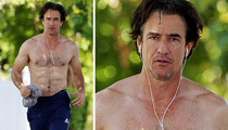 Dermot Mulroney -- Shirtless, Sweaty & Ripped!