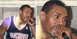 Metta World Peace -- I Look Good in a GRIZZLIES Jersey