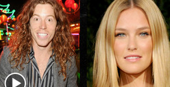 Shaun White &amp; Bar Refaeli -- One Small Step for Man, One Giant Leap for Gingers