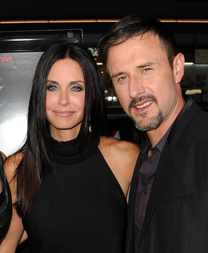 David Arquette and Courteney Cox -- Before the Split