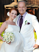 Kelsey Grammer and Very Pregnant Wife Kayte Renew Their Vows!