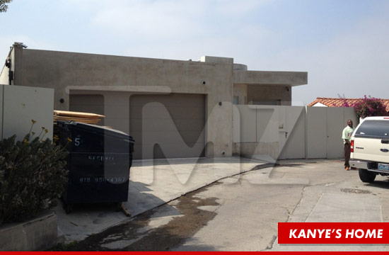 Los Angeles home belonging to Kanye West.