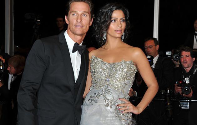 Matthew McConaughey & Camila Alves -- See Their Wedding Picture!
