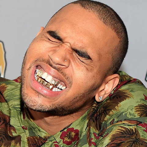 chris brown funny face - photo #16