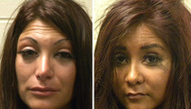 'Jersey Shore' Mug Shots: Deena vs. Snooki -- Who'd You Rather?