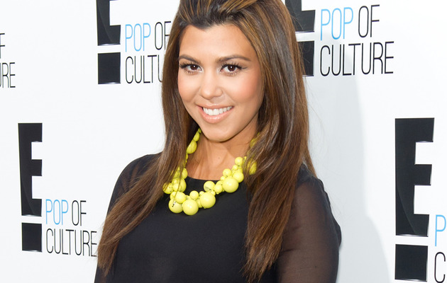 Kourtney Kardashian Did NOT Give Birth -- Sets Off Rumors with Cryptic Tweet