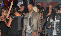 Tony Parker -- Injured in Chris Brown/Drake Brawl