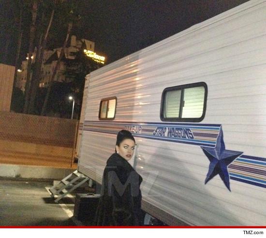 Lindsay Lohan was back on the set of Liz & Dick