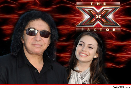 0617_x_factor_gene_simmons_sophie