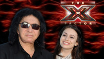 Gene Simmons -- Last Minute Father's Day Trip to 'X Factor' Auditions