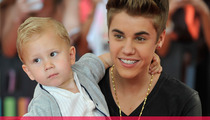 Justin Bieber Takes Baby Brother Jaxon On Red Carpet!