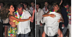 Mel Gibson Parties Hard with Maria Menounos