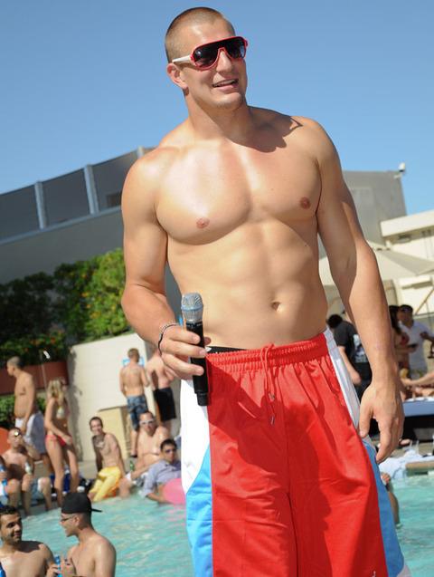Rob Gronkowski Hosts Topless Pool Party   Photo 1   TMZ.com