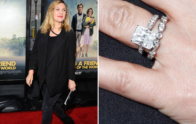 Newlywed Drew Barrymore Flashes Her Wedding Bling