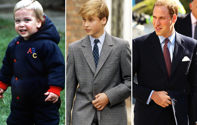 Prince William Turns 30 Today -- See Him Through the Years!