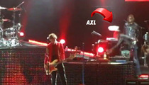 Axl Rose -- Faceplants HARD at Guns N' Roses Concert