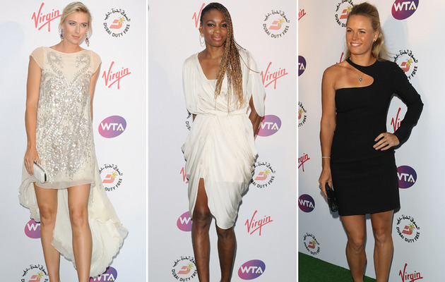 Sexy Tennis Stars Out of their Wimbledon Whites!