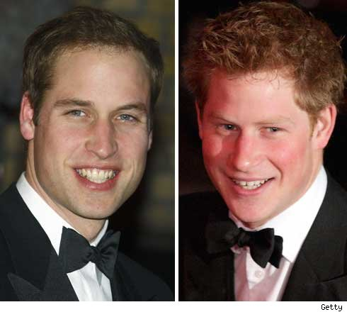 Prince Will and Harry