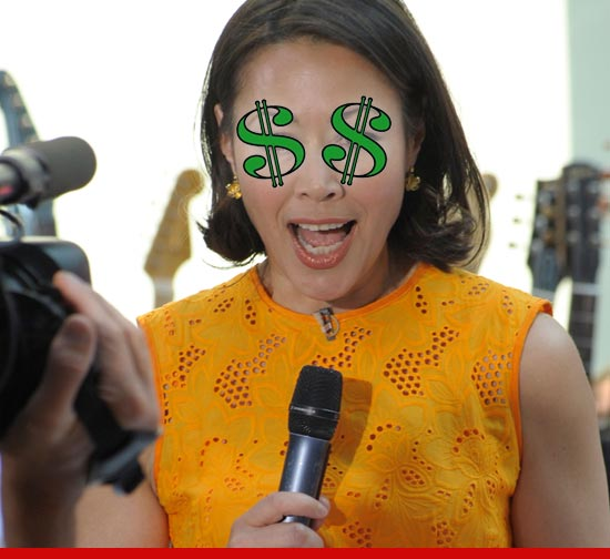 Ann Curry $$$.