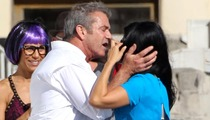 Mel Gibson -- Caught Giving Lip