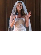 Viral Video: Bride Sings Christina Aguilera Down The Aisle