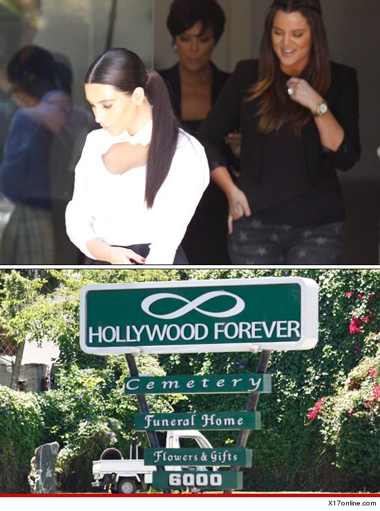 The Kardashian Family goes grave shopping...