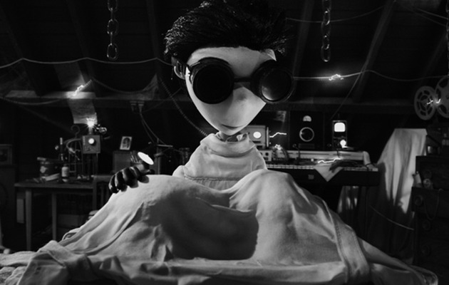 "HOT TRAILER: ""Frankenweenie"" is Dark, Odd and Awesome!"
