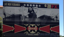 Russell Brand Billboard Vandalized ... Hilariously