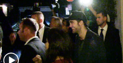 Robert Pattinson -- SHUT OUT of Justin Bieber and Katy Perry&#039;s Party Bus