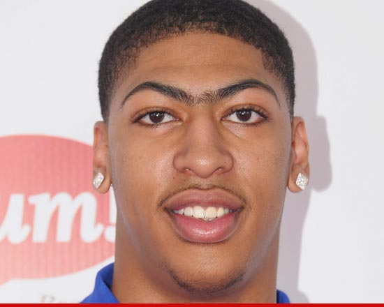 Anthony Davis and that unibrow.