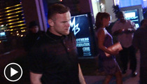 Wayne Rooney -- Retreats to L.A. After Euro 2012 Loss